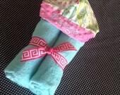 Kumari Garden Hooded Towel with name embroidery