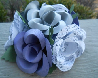 Custom Cake Topper. CHOOSE YOUR COLORS. Weddings, Showers, Paper Flowers, Decoration