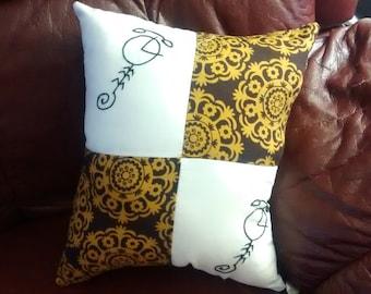 Bizenghast Patchwork Pillows
