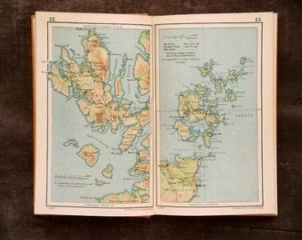 Vintage 1930s Scotland Travel Guide book Scotland for Everyman