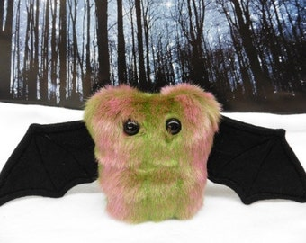 Spumoni The Scrappy Bat Stuffed Animal, Plush