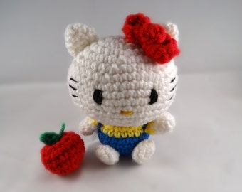 Amigurumi Heartless Pattern : Hello Kitty Amigurumi Pikachu by LVARTS on Etsy