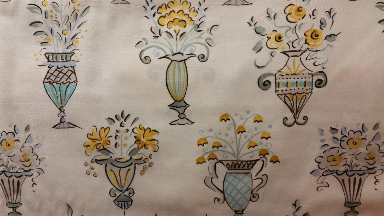 Sale vases and flowers print by dena designs from tea for Dena designs tea garden