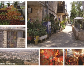 Beautiful Jerusalem Postcard