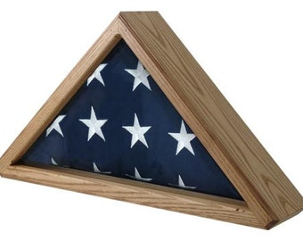 Cedar Flag Display Case