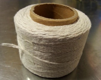 Cotton Wick Candle Wick Unbleached 5ply 1mm 420ft Spool