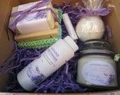 Eco Friendly Lavender Gift Box