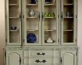 French Provincial China Cabinet (ON HOLD for Deanne)