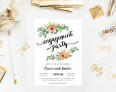 Sweetest Day Engagement Party Invitation