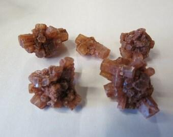 Aragonite Specimens 5 pieces