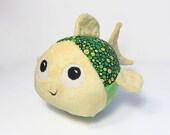 Green Swish Fish Soft Toy Fish