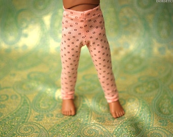 YoSD Peach And Brown Leggings For Ball Jointed Dolls