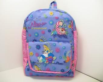 Alice In Wonderland Preschool Backpack