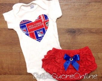 New York Rangers Girls Outfit