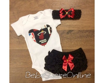 Miami Heat Outfit and Headband