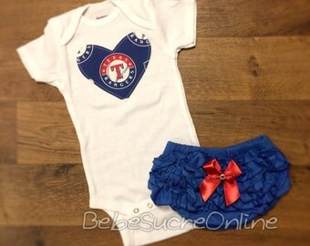 Texas Rangers Girls Outfit