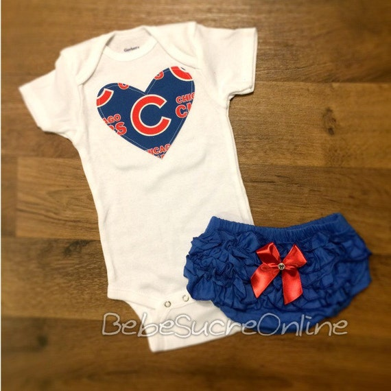 Chicago Cubs Girls Outfit