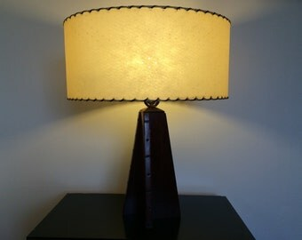 Mid Century Modern Fiberglass Lamp Shade Lampshade