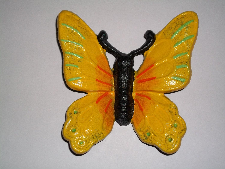 Cast Iron Butterfly 3d Butterfly Home Decor Garden Decor