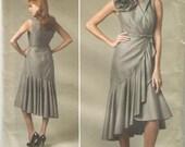 "Uncut Pamella Roland American Designer Dress, Vogue V11232, Sz 14 16 18 20 22, Bust 36 38 40 42 44"""