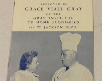 Vintage Selected Recipes Vol. 1 approved by Grace Viall Grey