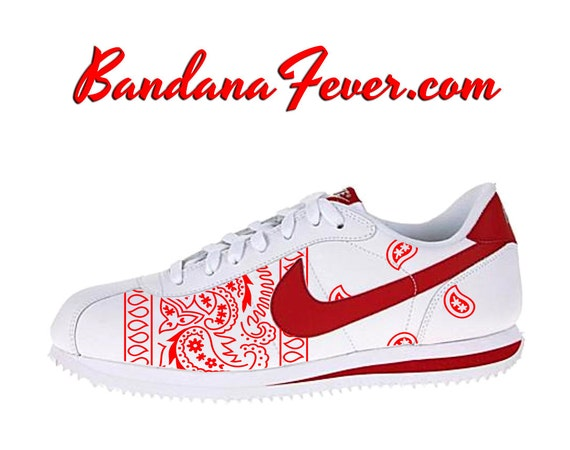 newest collection 41f2a 70b8b ... sale nike cortez blue bandana shoes fc199 add78