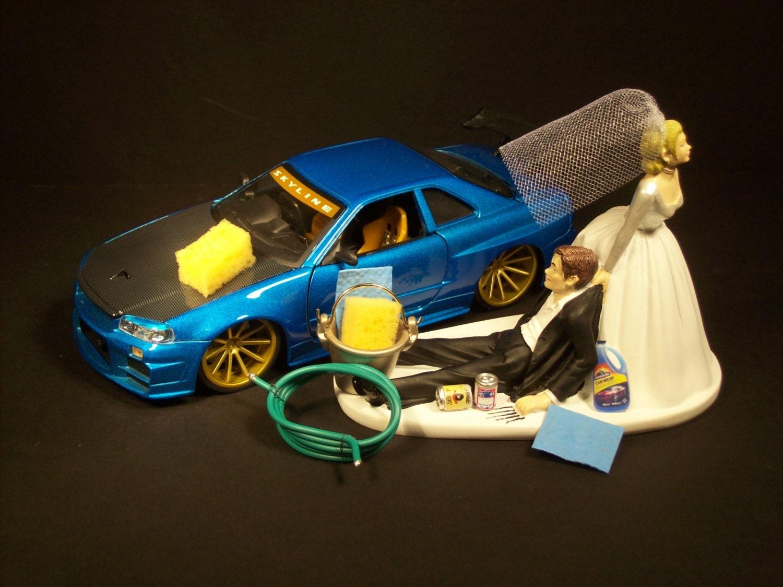 Car Wash Cake Topper
