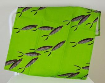 Tea Towel – Black Sardines