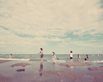 Ashbridges Bay, Toronto Beach, Ontario Beach, Lake Ontario, Toronto Photography, Toronto Photo, Beach Print, Beach Art, Beach Photography