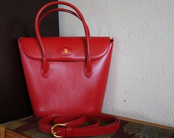 Red Bally Handbag / Shoulder bag