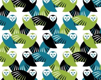 Cloud9 Organic Fabrics - Mixteca - Lechuza 1/2 YD