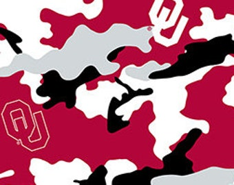 University of Oklahoma Camo Fabric