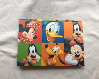 Passport Cover Mickey and Friends  (#178)