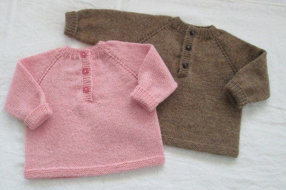 Knitting Baby Sweater Measurements : Baby girl sweater hand knit size m luxury by swanavenue