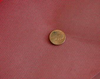Red Crinoline Fabric