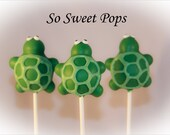 So Sweet Pops Happily Made Turtle Inspired Cake Pops