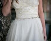 Gold Rhinestone wedding sash, bridal belt, Gold Diamond Sashes, Bride, Wedding, Fall