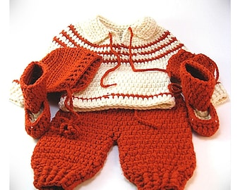 Child's Knitted Winter Set