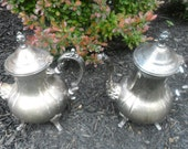 Vintage Silver Plated Coffee Pot and Tea Pot