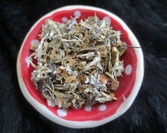 Northern Forests - Natural Smudging Blend - Trees Herbs Fungi Lichen - Ritual Offering Smoke