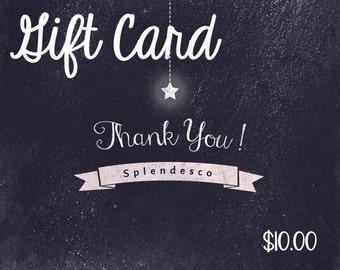 Splendesco Gift Card