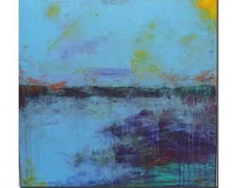 KOI 3........original acrylic painting abstract art