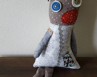 Stuffed Monster Zombie Rag Doll Sonia