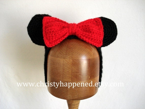 Minnie Mouse Headband with Changeable bows