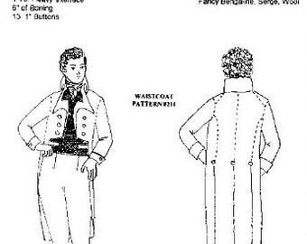 Wingeo Frock Coat 1790-1820