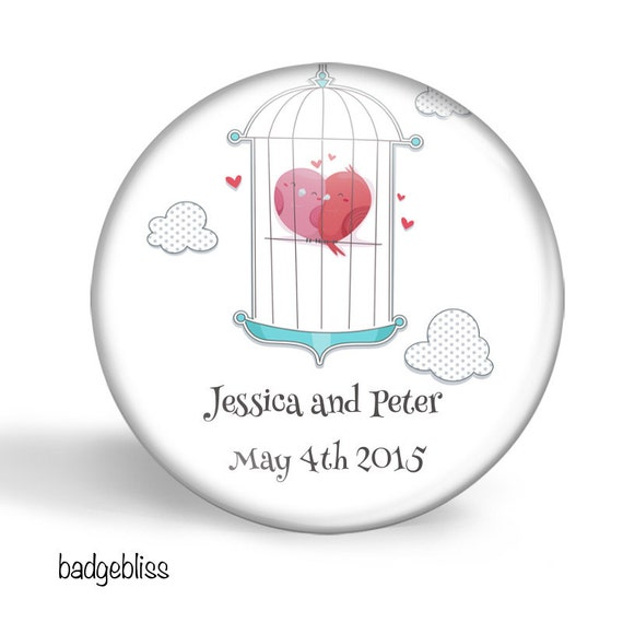 Wedding favor - 20 personalised wedding favors