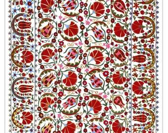 Handmade Modern Suzani L1094