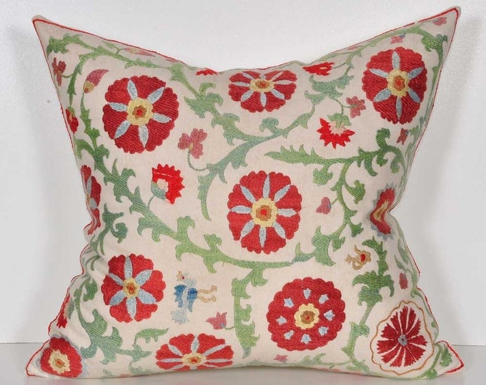 Handmade Suzani Pillow Cover MSP9-33