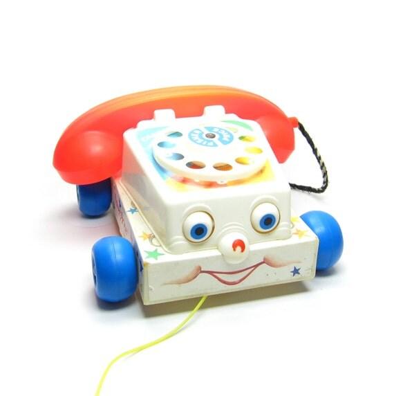 Vintage Toy Telephone 104