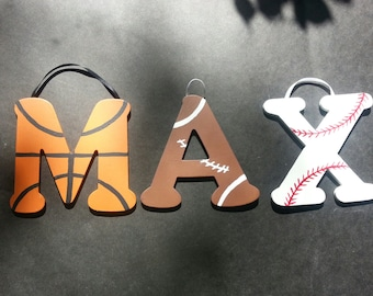Custom Sports Name / Monogram